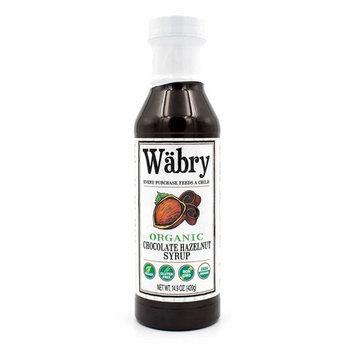Wäbry Organic Syrup 14.9 oz (Chocolate Hazelnut)