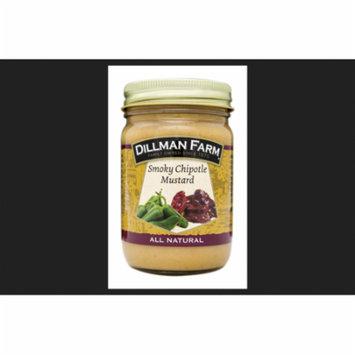 Dillman Farm Smokey Chipotle Mustard 13 oz. Jar