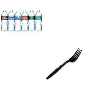 KITDXEFH517NLE101243 - Value Kit - Dixie Plastic Cutlery (DXEFH517) and Nestle Bottled Spring Water (NLE101243)