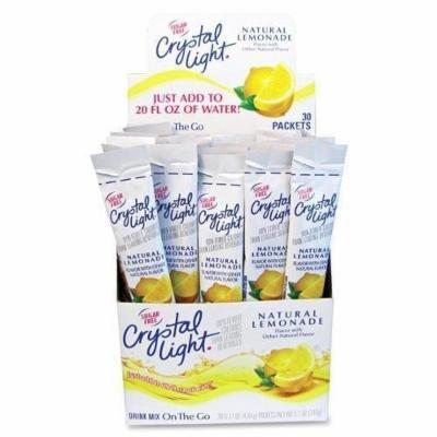 Crystal Light On The Go Natural Lemon Mix Sticks