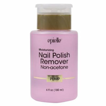 Epielle Nail Polish Remover Non-acetone Pump (1 Bottle) 180ml