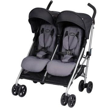 Evenflo Minno Twin Double Stroller - Glenbarr Grey