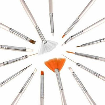 15pcs Nail Art Gel Design Pen Painting Polish Brush Dotting Drawing Tool Set NEW Bs-05, Ship from America