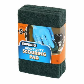Superio Heavy Duty Scouring Pad (5-Pack)