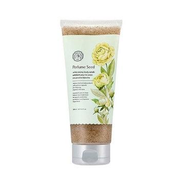 [The Face Shop] Perfume Seed White Peony Body Scrub (Tube) 200ml : Beauty