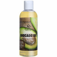 Avocado Oil,Natural Carrier Oil 4 oz, Rich In Protein, Amino Acids & Vitamins A, D & E, Prevents Aging, Treats Dry, Irritated & Acne Prone Skin - By Premium Nature