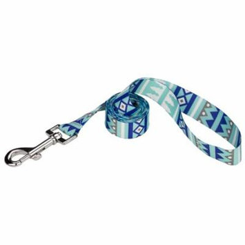 Country Brook Petz® 1/2 Inch Snowy Pines Featherweight Dog Leash - 4 Feet