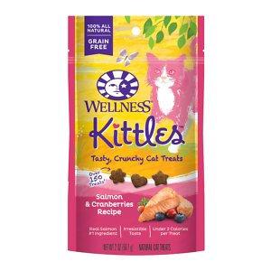 Wellness Kittles™ Salmon & Cranberries Cat Treats
