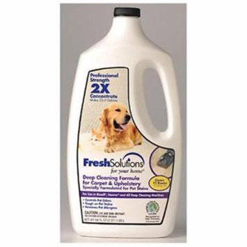 Fresh Solutions 64 OZ 2X Pet Deep Cleaning Formula Carpet Cleaner Only One