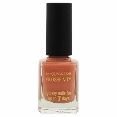 Max Factor Glossfinity Nail Polish for Women, # 125 Marsh Mallow, 0.37 Ounce by Max Factor