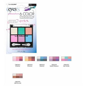 Blister 6 Color Eyeshadow Dreamy, Case of 12