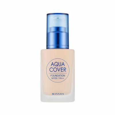 [Missha] Aqua Cover Foundation SPF20 PA++ #C21