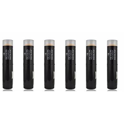Revlon Photoready Insta-Fix Foundation Stick, SPF 20 Natural Ochre (6 Pack) + FREE Old Spice Deadlock Spiking Glue, Travel Size, .84 Oz