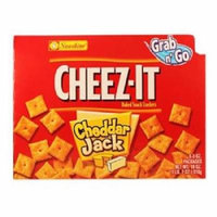 CHEEZ-IT GRAB N GO CHEDDAR JACK CRACKERS 3 oz Each ( 6 in a Pack )