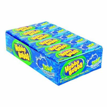Hubba Bubba Sour Blue Raspberry 18 Count