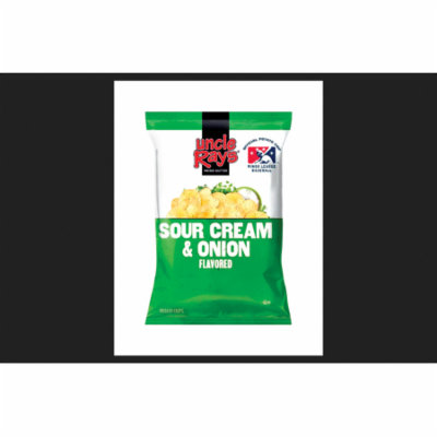 Uncle Ray's Sour Cream and Onion Potato Chips 1-1/2 oz. Bag