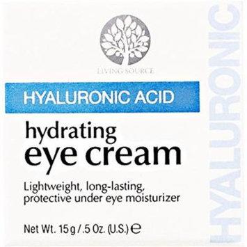 Living Source Hyaluronic Acid Hydrating Eye Cream 0.5 oz