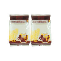 100-Pack Hanging Ear Drip Coffee Pour Over Filter Bag Filters Dripper Disposable