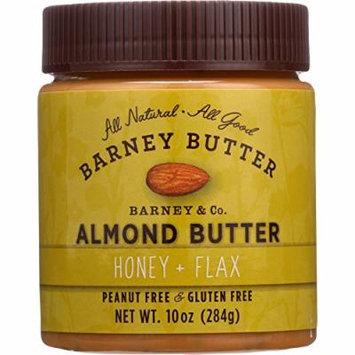 Barney Butter Almond Butter - Honey and Flax - 10 oz - case of 6 - Gluten Free - Vegan