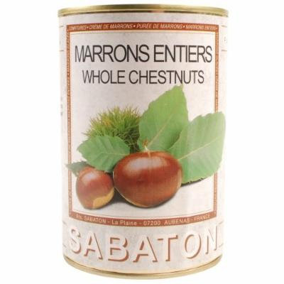 Chestnuts in Water - Marrons au Naturel - 1 x 14.9 oz