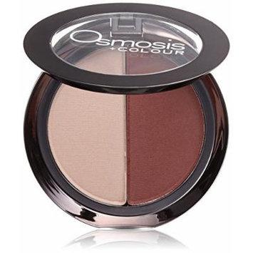 Osmosis Skincare Eye Shadow Duo, Crimson Cream
