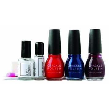 Rio Crackle Polish Party Collection Nail Polish Set by Rio