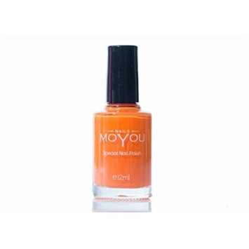 Peachy Passion, Torch Red, Yellow Colours Stamping Nail Polish by MoYou Nail used to Create Beautiful Nail Art Designs Sourced Directly from the Manufacturer - Bundle of 3
