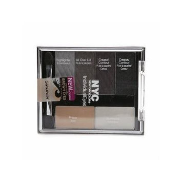 New York Color Individualeyes Custom Compact, Smokey Browns, 1.08 Ounce by N.Y.C.