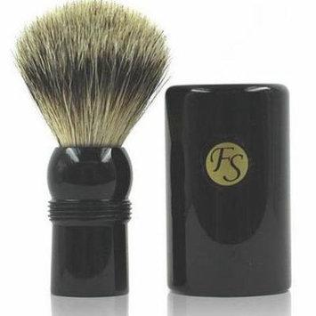 Shaving Brush -- Best Badger Travel Brush with Ebony Case 19 Mm Knot