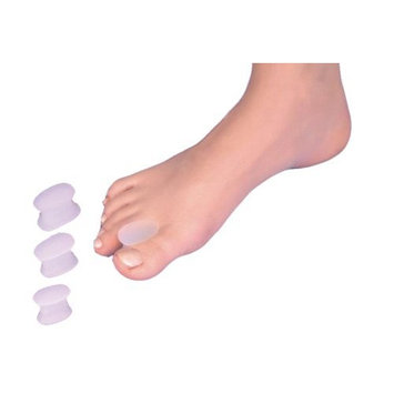 NEO G Silicone Toe Spreader - SMALL - Medical Grade Quality, Premium Quality Silicone HELPS toe re-alignment, separate close/overlapping toes, pressure and friction - Unisex