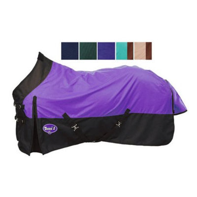 Jt Intl Distributers Inc Tough-1 1200 Denier Waterproof Horse Sheet Tan/Brown, 72
