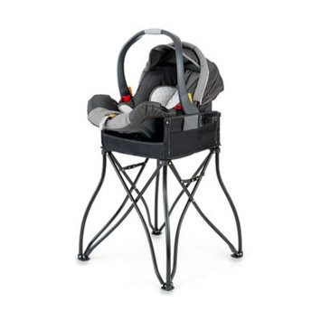 Myownersbox The GoTo 2-in-1 Infant Car Seat Station and Portable High Chair, Black