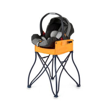 Myownersbox The GoTo 2-in-1 Infant Car Seat Station and Portable High Chair, Orange