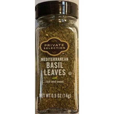 Private Selection Mediterranean Basil Leaves .5 oz (Pack of 2)