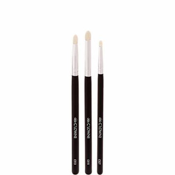 Crown PRO - Eyeshadow Detail Trio - Crease, Lash, and Highlight Brushes