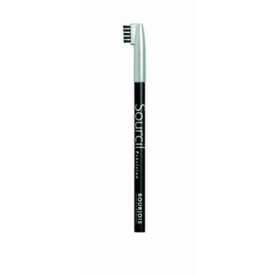 Bourjois Crayon Courcils Eyebrow Pencil, #01 Noir Ebene, Unboxed by Unknown