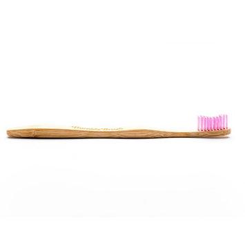 Humble Brush Adult Toothbrush, Purple, Medium