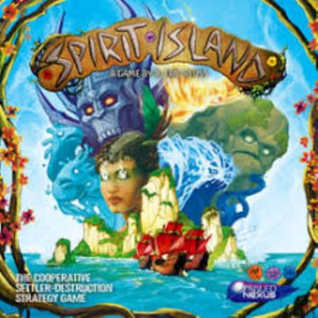 Publisher Services Spirit Island Game, Board Games