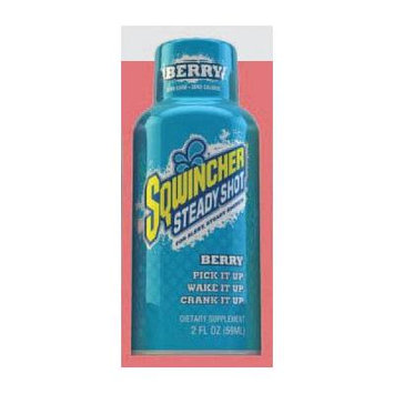 Sqwincher Steady Shot Berry Energy Drink Ca/144