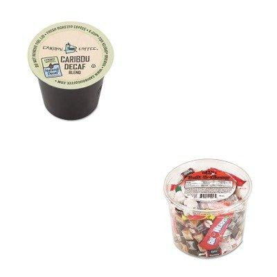 KITGMT6995CTOFX00013 - Value Kit - Green Mountain Coffee Roasters Caribou Blend Decaf Coffee K-Cups (GMT6995CT) and Office Snax Soft amp;amp; Chewy Mix (OFX00013)