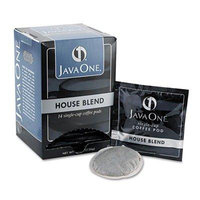 JAVA TRADING CO 40300 Coffee Pods, House Blend, Single Cup, 14/Box