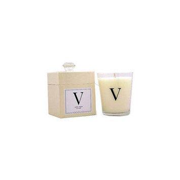 Wrapables Archipelago Monogram - V (Vanilla & Freesia) Candle