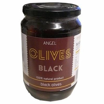 Angel Greek Black Olives, 700g