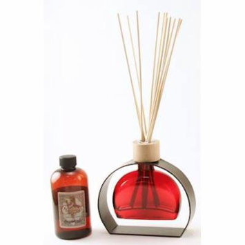 RED 6 Ounce Figi Reed Diffuser With Metal Stand - 8 Ounces of Fragrance - Courtneys Candles - LAVENDAR BREEZE