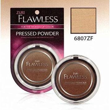 Zuri Flawless Pressed Powder - Tender Brown (Pack of 6)