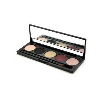 Jolie Micro Fine Mineral 5 Shade Eyeshadow Compact W/ Brush - Sugar & Spice