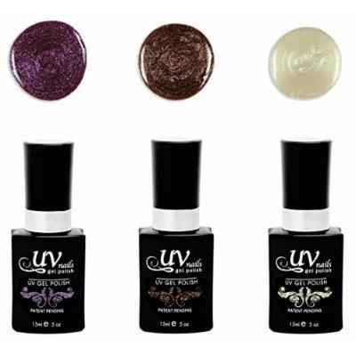 UV-Nails Morrigan Set of 3 UV or LED gel polish