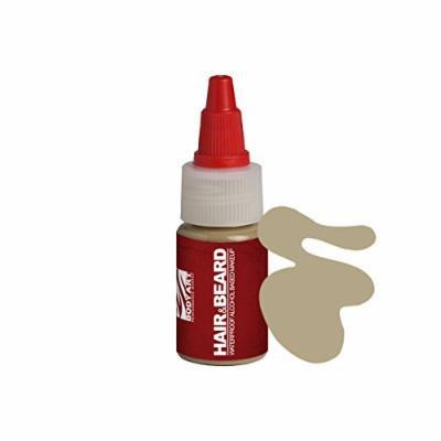 European Body Art EnduraHAIR&BEARD Alcohol Based Airbrush Airgun Hair and Beard Paint Liquid Makeup, Papyrus 1oz
