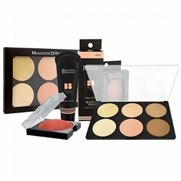 Measurable Difference 3-Piece Skin-Luminizing Makeup Kit - Light