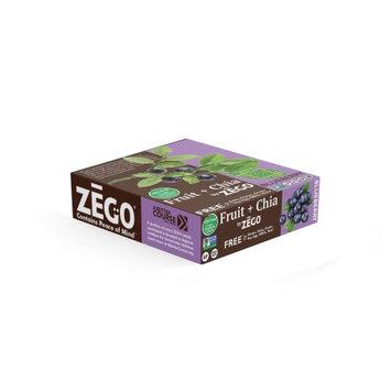 ZEGO Fruit+Chia Blueberry Bars (12 bars/box)
